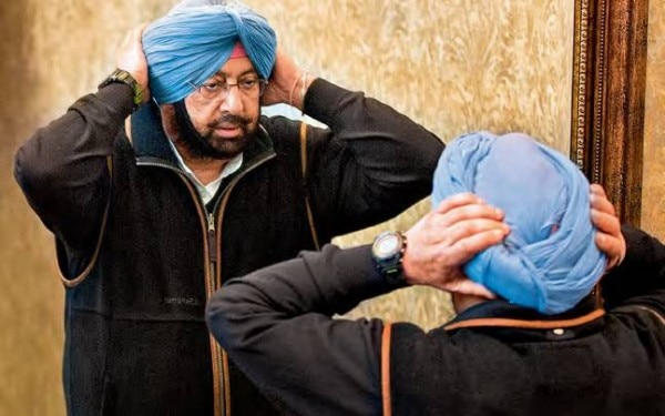 पंजाब के सीएम अमरिंदर सिंह के दामाद पर बैंक घोटाले का केस दर्ज हुआ है.