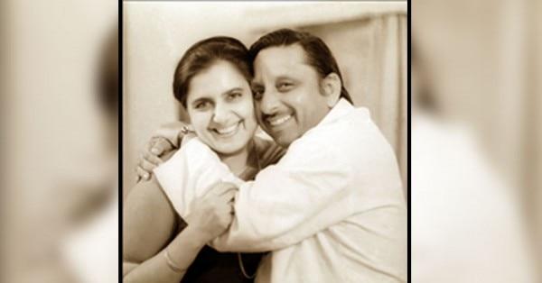 पत्नी के साथ मणि शंकर अय्यर