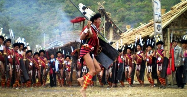 नागालैंड की एक ट्राइब कम्युनिटी
