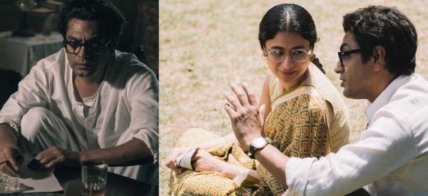 फिल्म के दो दृश्यों में नवाजुद्दीन सिद्दीकी और रसिका दुग्गल.