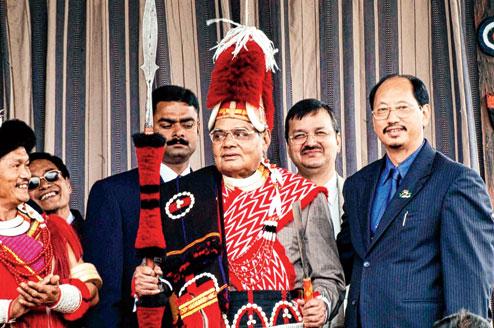 अटल बिहारी वाजपेयी नागा गुटों के पसंदीदा भारतीय प्रधानमंत्री रहे. (फोटोः टेलिग्राफ)