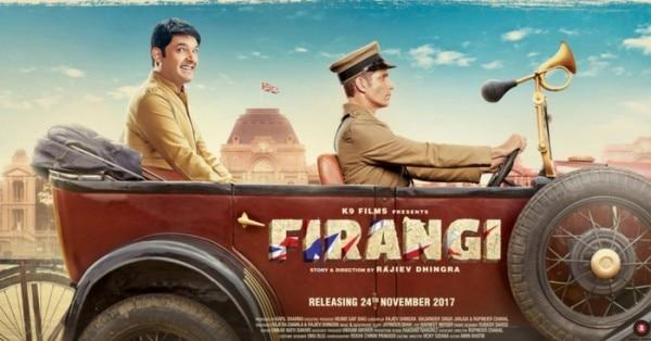 कपिल की फिल्म 'फिरंगी' का पोस्टर.