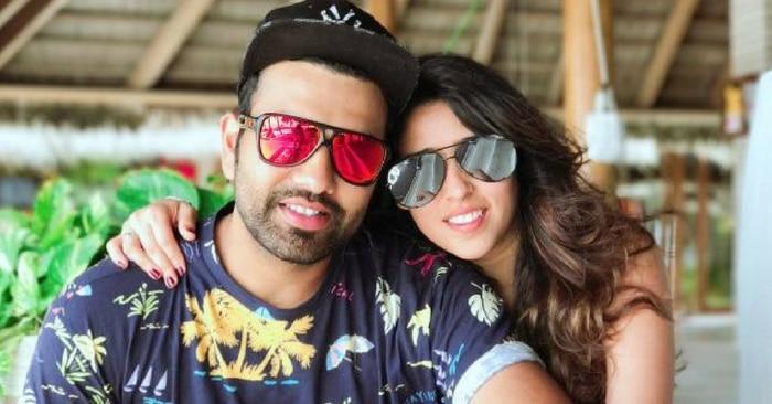 रोहित शर्मा की पत्नी का क्या नाम है?