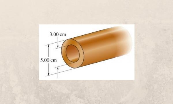 इस तस्वीर में पाइप का भीतरी डायामीटर 3 सेमी और बाहरी डायामीटर 5 सेमी है. यानी इस पाइप का बोर हुआ 3 सेमी.