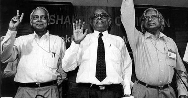 भारत को परमाणु राष्ट्र बनाने में इन तीन लोगों का बड़ा योगदान है. डॉ. अब्दुल कलाम, आर. चिदंबरम और के. संथानम (दाएं से बाएं)