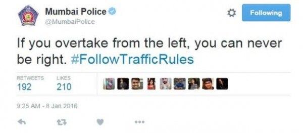 left right mumbai police