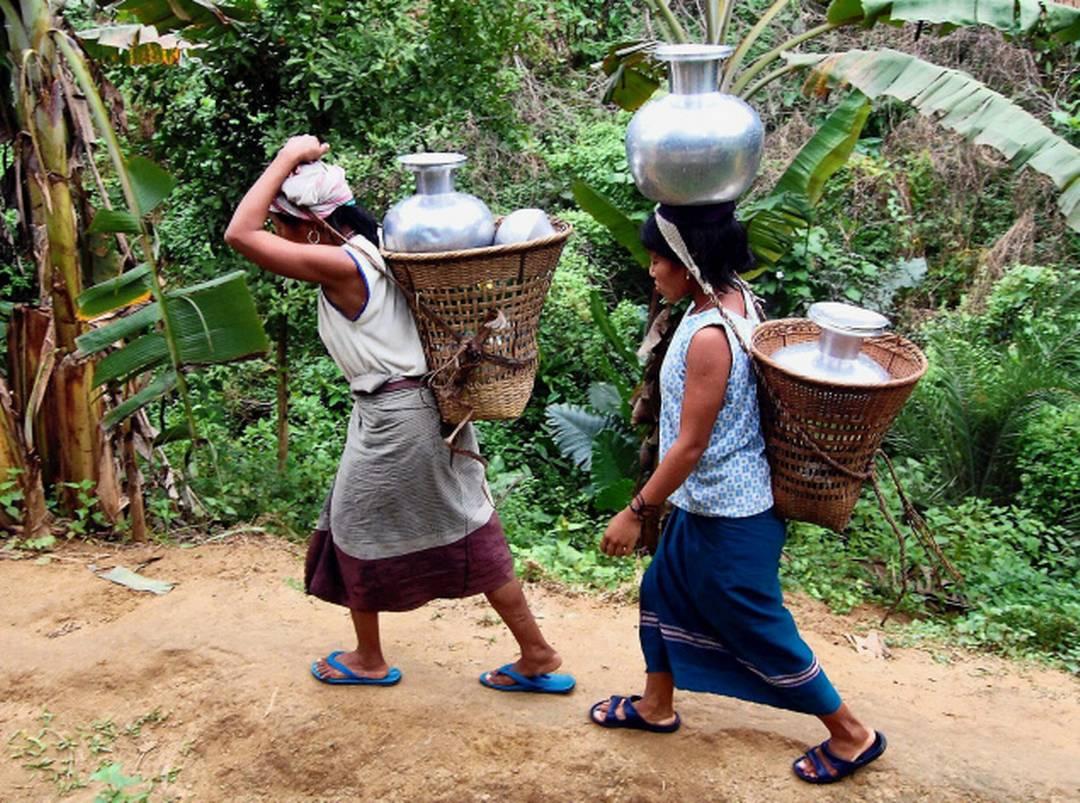 ब्रू अपने गुज़र बसर के लिए छोटे-मोटे काम, मज़दूरी और जंगलों पर निर्भर हैं.