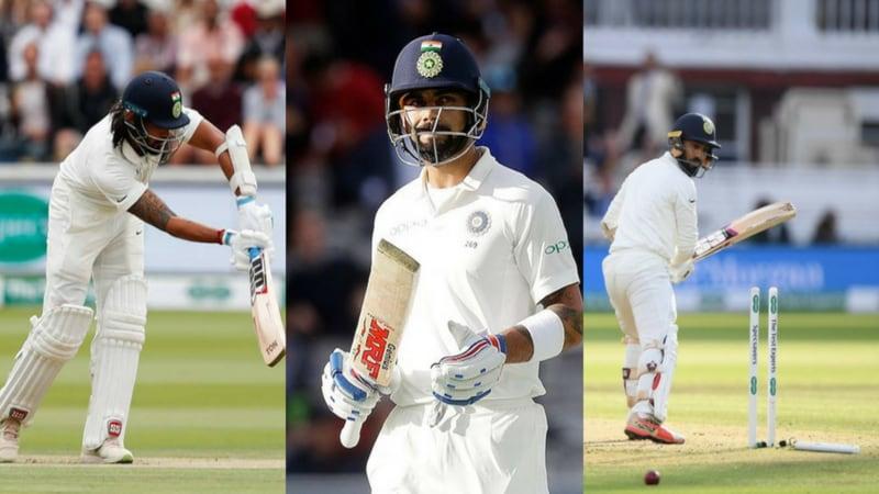 लॉर्ड्स के मैदान पर कोहली की टीम इंडिया ने खराब खेल की नई इबारत लिखी है