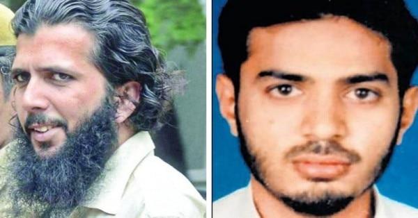 यासीन भटकल (बाएं) पुलिस की गिरफ्त में है. कहा जा रहा है कि रियाज (दाएं) मारा जा चुका है और उसे असम में दफना दिया गया है.