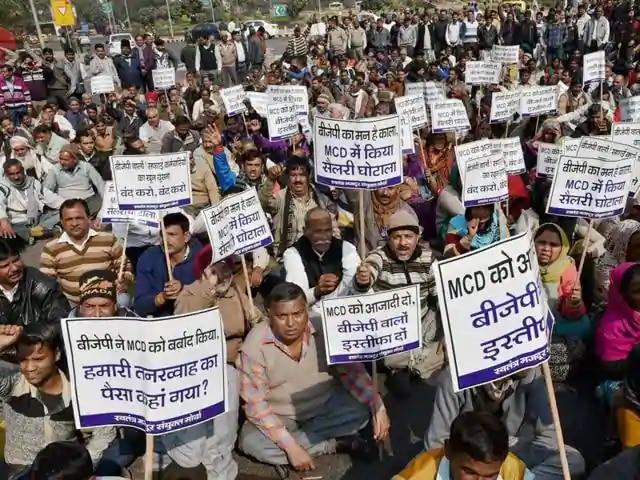 MCD protest