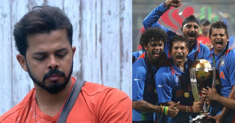Sreesanth recalled an interesting anecdote about Sachin Tendulkar and him from the time of 2011 world cup