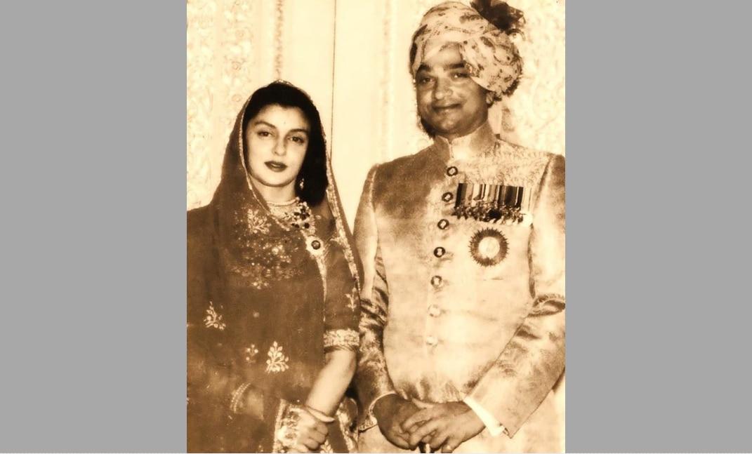 महाराजा मान सिंह और महारानी गायत्री देवी