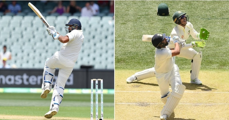 Rohit Sharma gets out by playing a poor shot after hitting a six