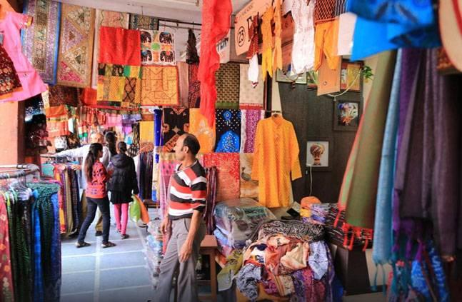 जयपुर का त्रिपोलिया बाजार.