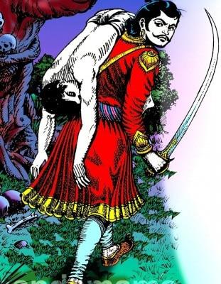 विक्रम बेताल जैसे चंदामामा के पात्र अब शायद इतिहास हो सकते हैं. (तस्वीर साभार- चंदामामा फेसबुक पेज)