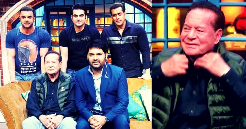 Scriptwriter and Salman Khan's father Salim Khan shares interesting anecdotes from his life on The Kapil Sharma Show