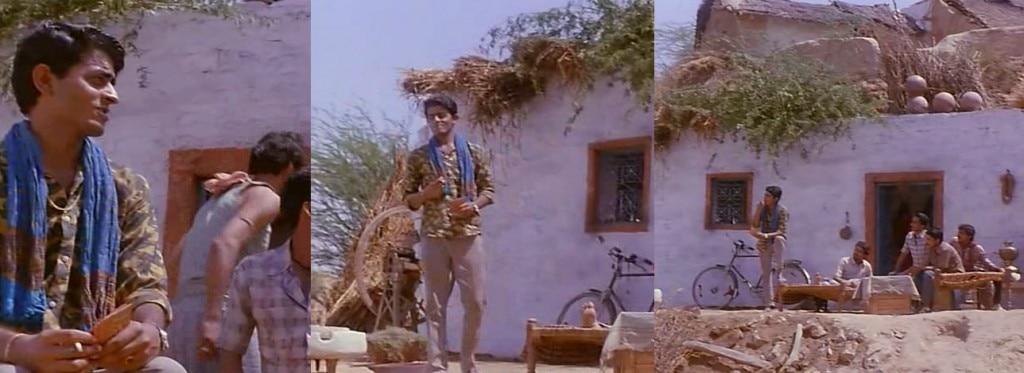 करियर के पहले किरदार अशोक चंद (बैंडिट क्वीन, 1994) को निभाते हुए गजराज राव.