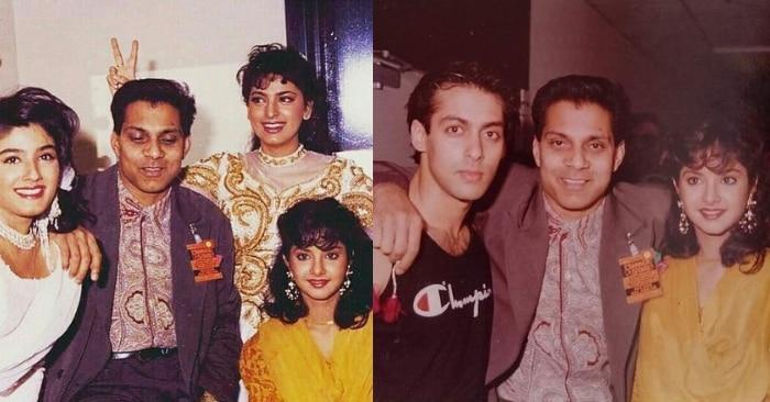 1992 में उस शो के दौरान रवीना टंडन, जूही चावला, सलमान खान और दिव्या भारती