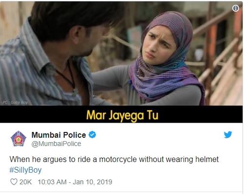 mumbai police memes