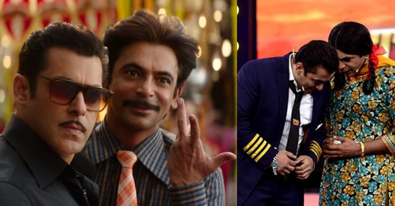 Salman Khan says Sunil Grover is one of the most talented actors in Bollywood
