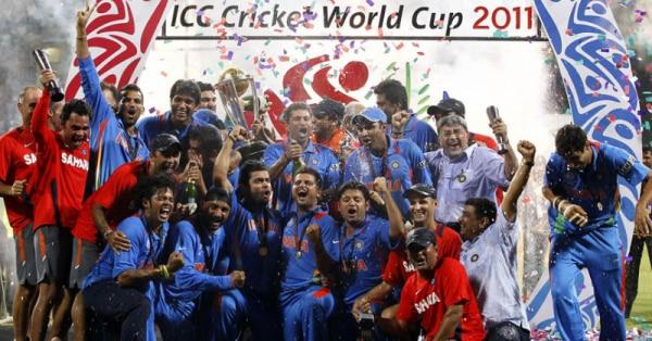 2011 वर्ल्ड कप की विजेता भारतीय टीम.