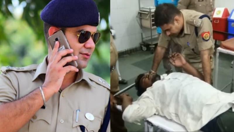 जिन SP अजय पाल शर्मा को हीरो बताया जा रहा, उन्होंने