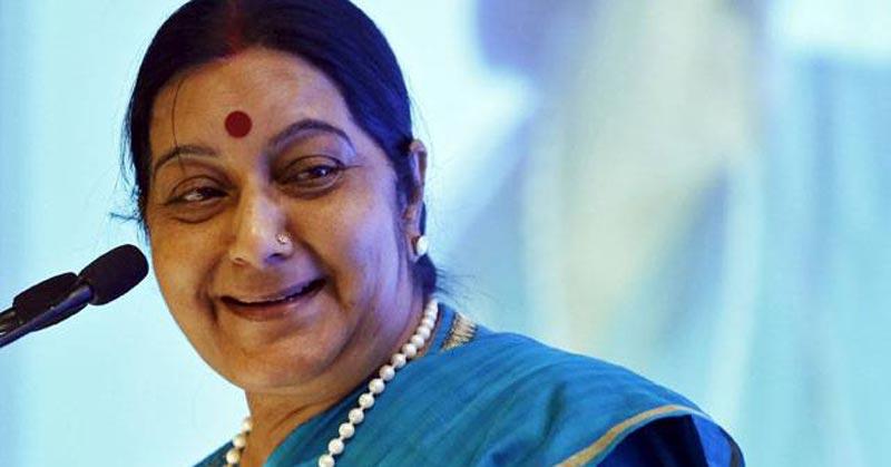 सुषमा स्वराज ने अपनी ही पार्टी के एक बड़े मंत्री को सुट्ट कर दिया