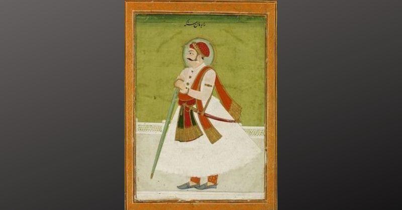 आमेर के शासक मान सिंह कच्छावा जिन्होंने अकबर की तरफ से राणा प्रताप के खिलाफ युद्ध किया था.