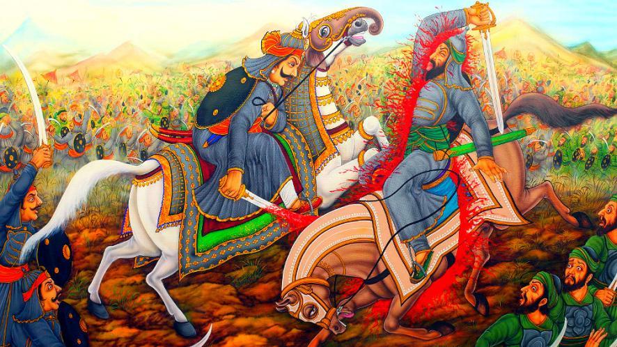 दीवेर की लड़ाई लोक कथाओं में कुछ इस तरह से दर्ज है. कहा जाता है कि राणा प्रताप के बेटे अमर सिंह ने मुगल कमांडर पर इतना जोर से वार किया था कि वो अपने घोड़े सहित दो टुकड़े में कट गया.