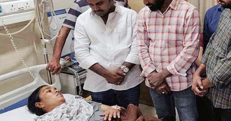 तेलंगाना में विधायक के भाई ने जिस महिला अधिकारी को पीटा था, उसी के ऊपर केस हो गया
