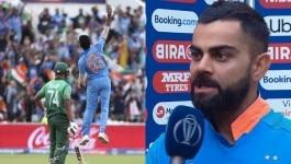 सेमी में क्वालीफाई करने के बाद विराट ने राज़ खोला कि IND-BAN मैच में उन्होंने क्या जुआ खेला, और क्यूं
