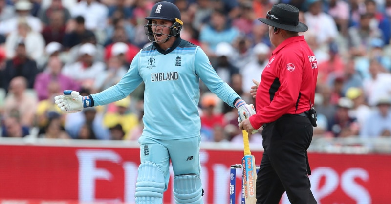 World Cup 2019: Jason Roy refuses to walk after controversial dismissal against Australia in the semi final