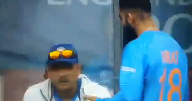 ICC Cricket World Cup 2019: Upset Virat Kohli walks straight to coach Ravi Shastri after Rishabh Pant got out