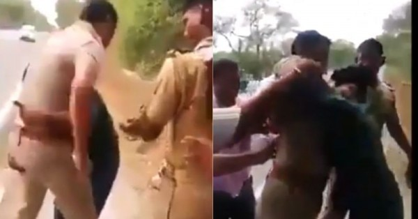युवक की पिटाई के बाद वीडियो वायरल हुआ, फिर जो हुआ वो पुलिसवालों के लिए सबक है