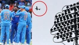 IND v SL: फिर दिखा मैदान के ऊपर प्लेन, ICC क्या घुइयां छील रहा है?