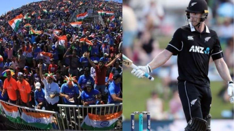 WC फाइनल के टिकट पर भारतीयों का कैसा कब्ज़ा है, ये न्यूज़ीलैंड के नीशम का ट्वीट पढ़ समझ जाएंगे