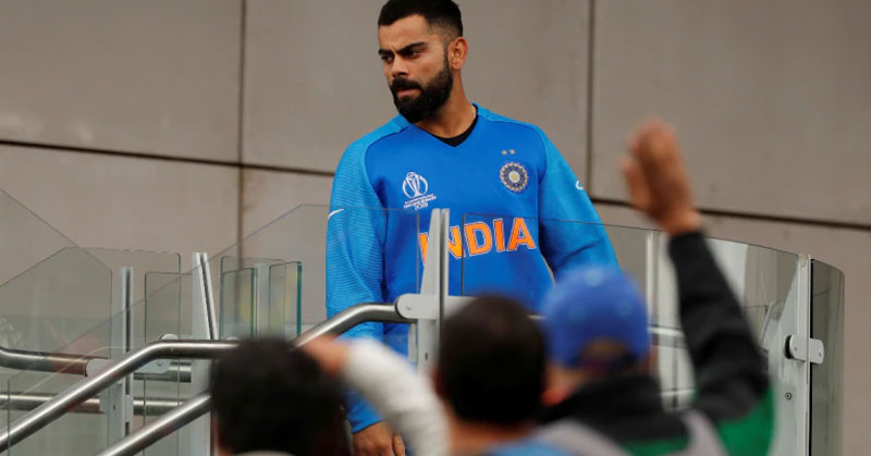 Cricket World Cup 2019: Virat Kohli says thank you to Indian supporters, tweets an emotional message