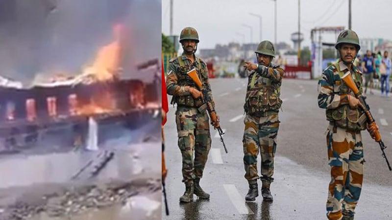 पड़ताल: क्या इंडियन आर्मी ने कश्मीरियों के घर फूंक दिए हैं?