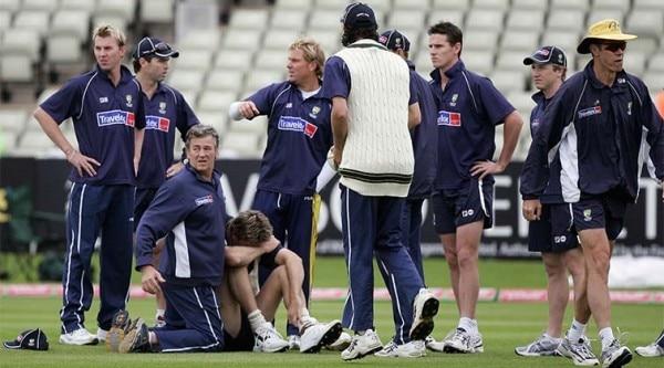 mcgrath injury 2005 ashes test edgebaston test