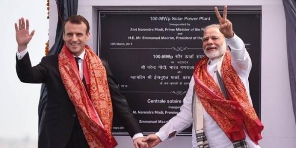 मिर्जापुर में फ्रांस के सहयोग से बने सोलर प्लांट से आसपास के जिलों में बिजली सप्लाई की जाएगी. (फाइल फोटो)