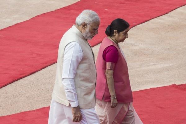 नरेंद्र मोदी और सुषमा स्वराज
