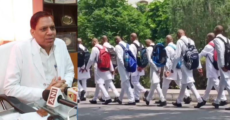 सैफई यूनिवर्सिटी में भयानक रैगिंग, डेढ़ सौ छात्रों के सिर मुंडवा दिए