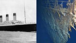 ये तस्वीरें  बता रहीं कि टाइटैनिक के मलबे को समंदर खा गया है