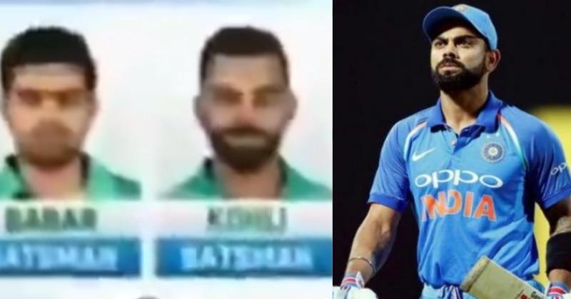 Image result for virat kohli playing for pakistan