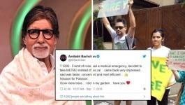 अमिताभ बच्चन के ट्वीट से बवाल मचा, लोगों ने उनके घर के बाहर विरोध प्रदर्शन किया