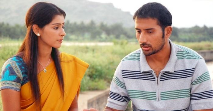 तमिल स्पोर्ट्स फिल्म 'पोट्टा पोट्टी' के एक सीन में सदगोपन रमेश.