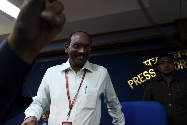 K Sivan, Chairman Isro during Press Conferece on Launch of Chandrayan-2 at New Delhi on June 13 2019. Photo by Chandradeep Kumar