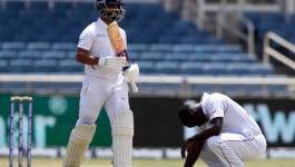 राहुल कैच, कोहली कैच, रहाणे के बोल्ड होने के साथ हैट-ट्रिक होती कि एक इंच से गेंद चूक गई