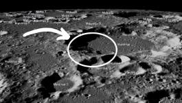 चांद पर नासा ने चंद्रयान की लैंडिंग साइट पर क्या देखा है?