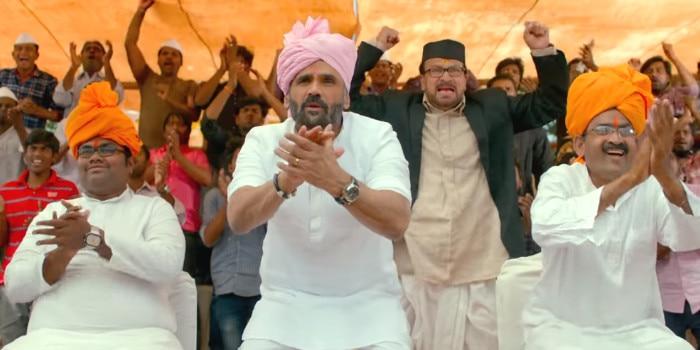 फिल्म 'पहलवान' में सुनील शेट्टी